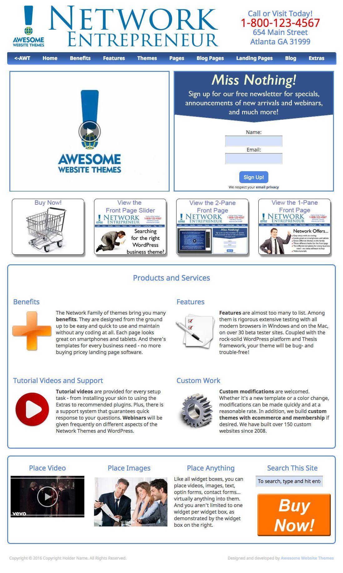 Thesis – a WordPress Theme Design Worth Considering