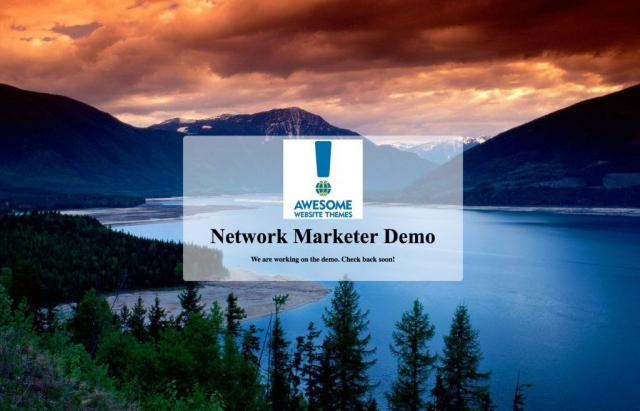 Network Marketer Will Be Available Soon!