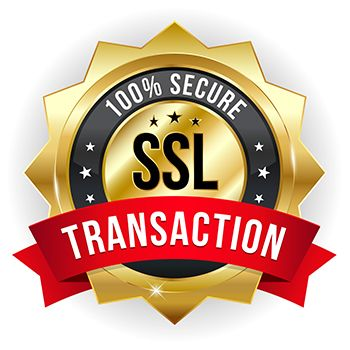 SSL 100% Secure Transaction